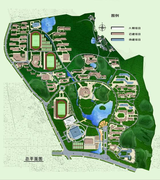 东湖校区平面图-浙江农林大学